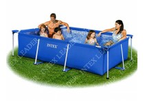 Каркасный бассейн Intex Rectangular Frame Pool, 220х150х60 см 28270/58983