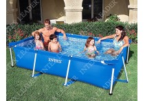 Каркасный бассейн Intex Rectangular Frame Pool, 300х200х75см 28272/58981