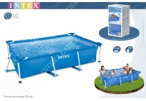 Каркасный бассейн Intex Rectangular Frame Pool 28271, 260 х 160 х 65 см